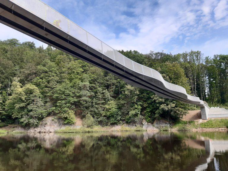 Rozbiórka i budowa kładki dla pieszych nad Jeziorem Bystrzyckim w Zagórzu Śląskim (4)