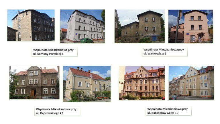 budynki po rewitalizacji